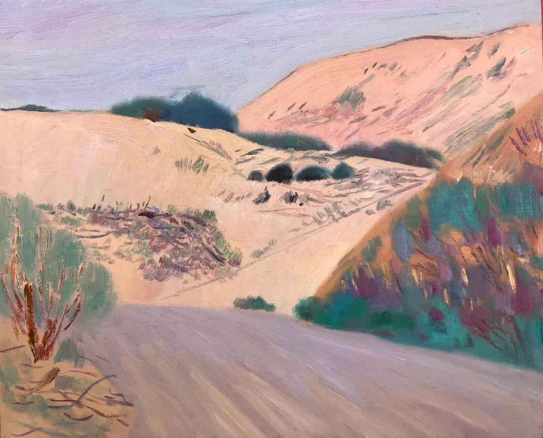 写意风格山野风景——王克举油画插图11