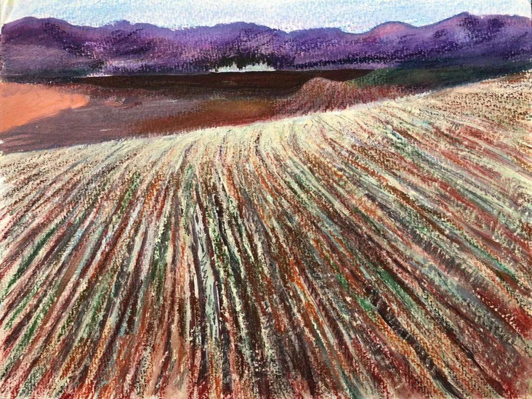 写意风格山野风景——王克举油画插图18