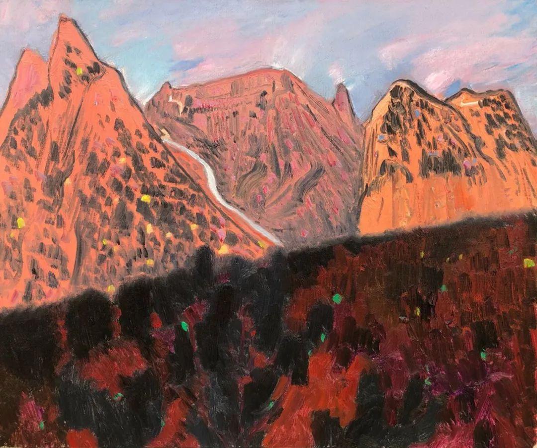 写意风格山野风景——王克举油画插图23