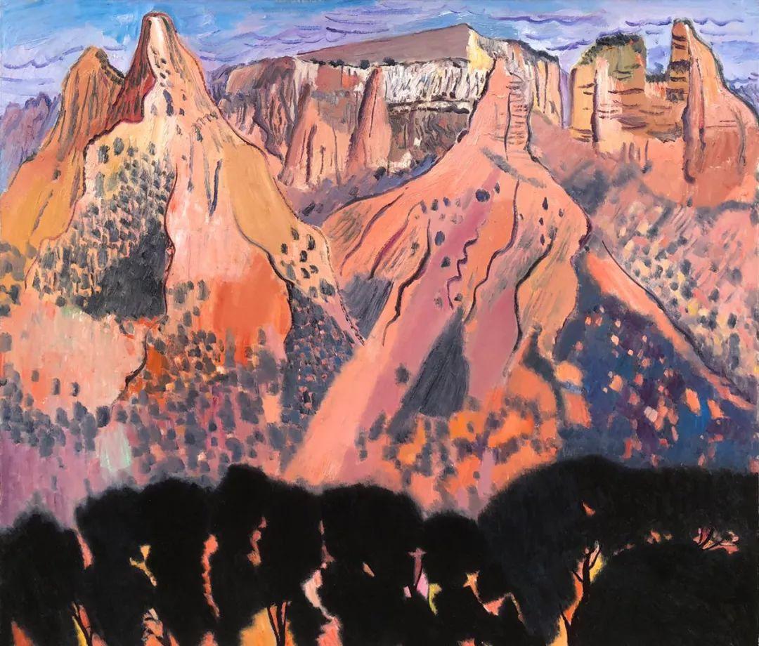写意风格山野风景——王克举油画插图28