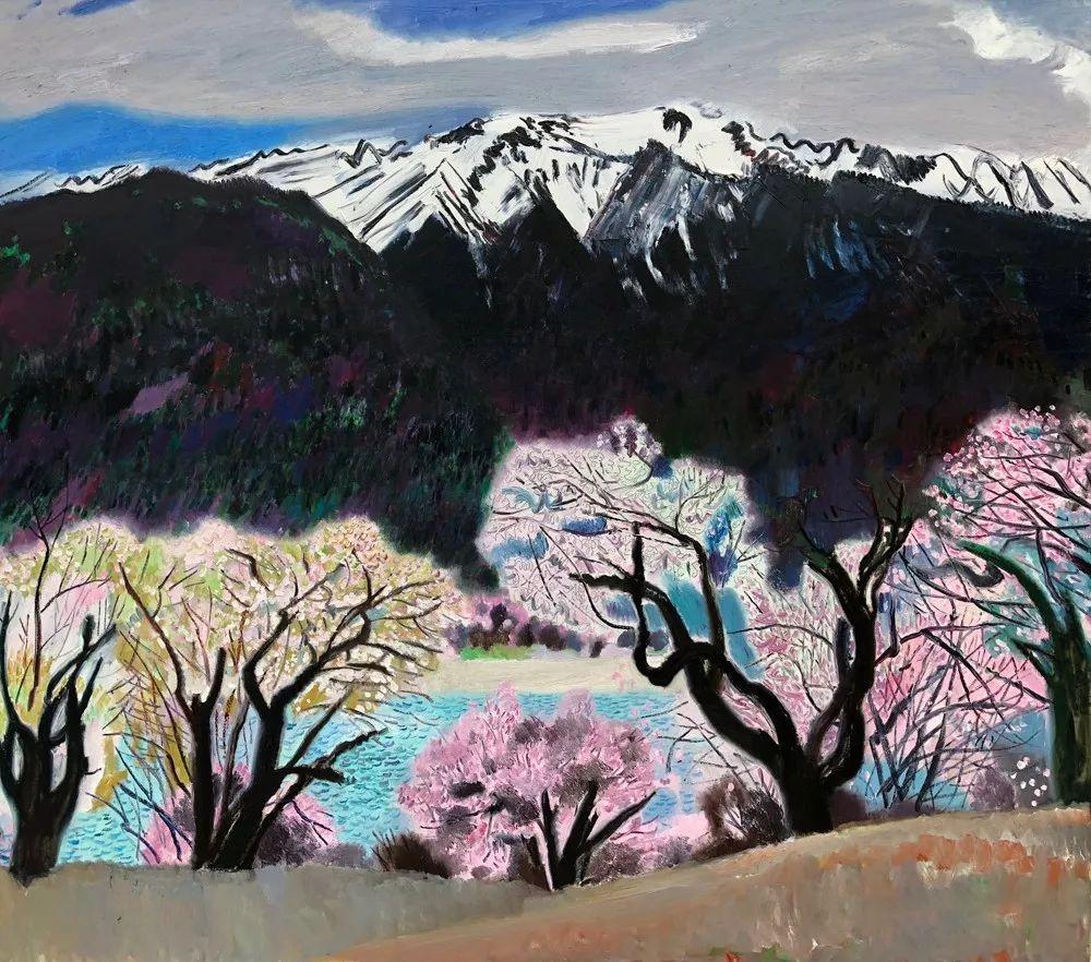写意风格山野风景——王克举油画插图30