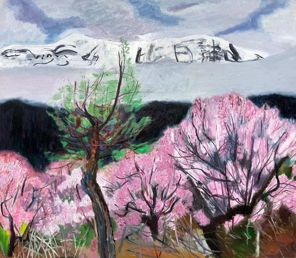 写意风格山野风景——王克举油画插图31