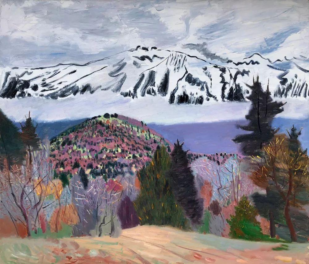 写意风格山野风景——王克举油画插图33