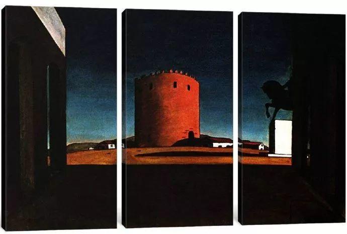 乔治·德·基里科,形而上学画派创始人之一插图7