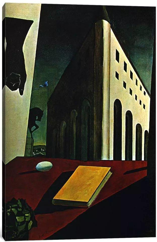 乔治·德·基里科,形而上学画派创始人之一插图9