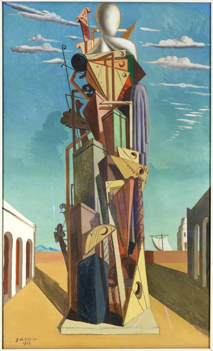 乔治·德·基里科,形而上学画派创始人之一插图13