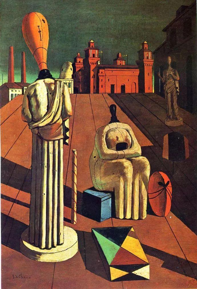 乔治·德·基里科,形而上学画派创始人之一插图53