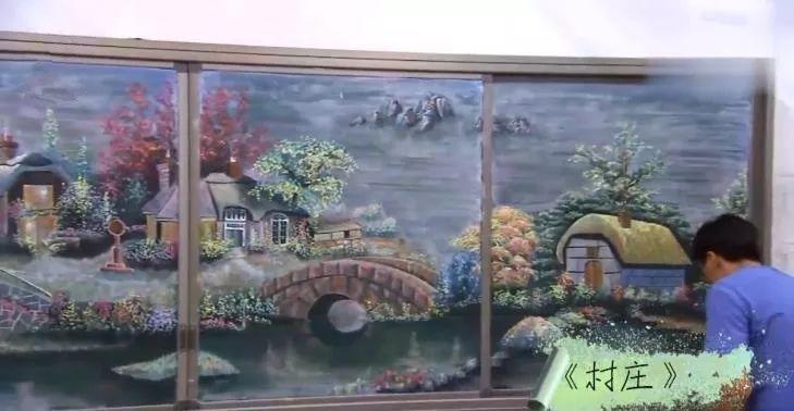 小学老师用粉笔画出油画质感,美到央视为其打call插图21