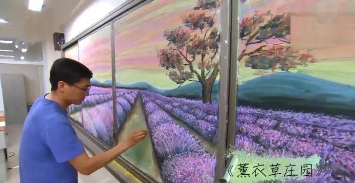 小学老师用粉笔画出油画质感,美到央视为其打call插图25