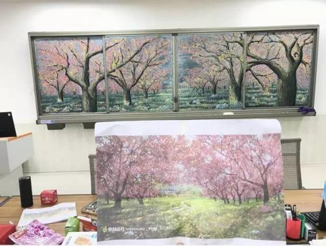 小学老师用粉笔画出油画质感,美到央视为其打call插图31