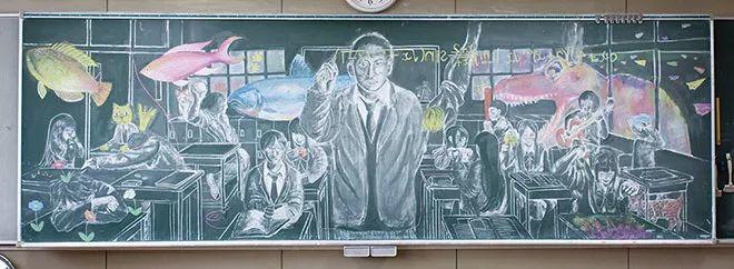 小学老师用粉笔画出油画质感,美到央视为其打call插图55