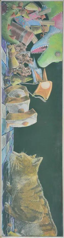 小学老师用粉笔画出油画质感,美到央视为其打call插图69