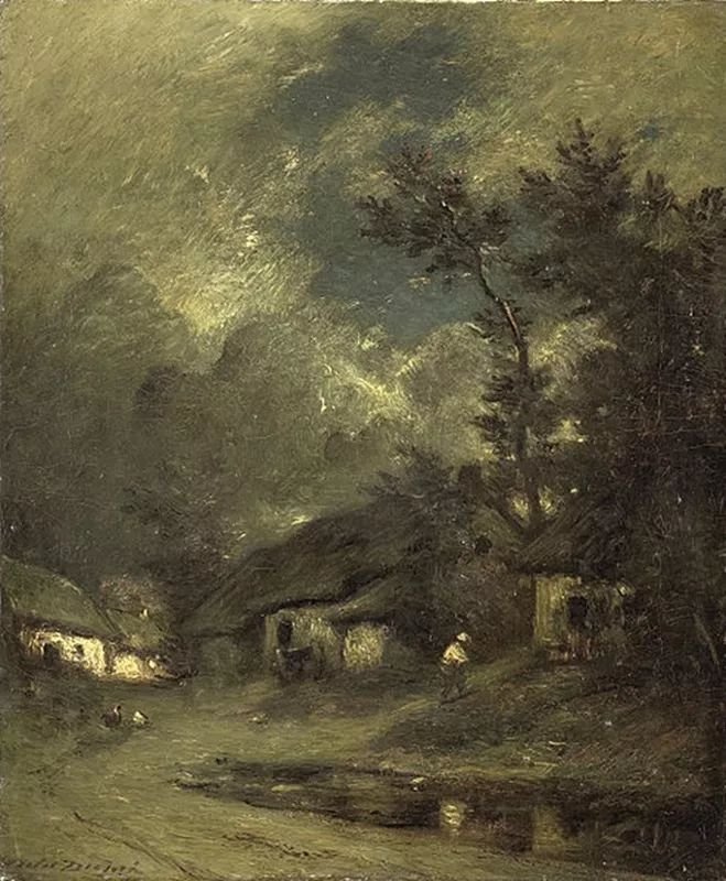 法国-杜普雷,风景画中的贝多芬插图1