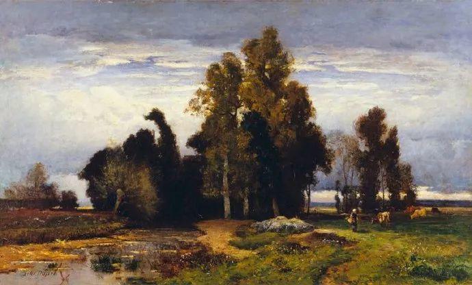 法国-杜普雷,风景画中的贝多芬插图2