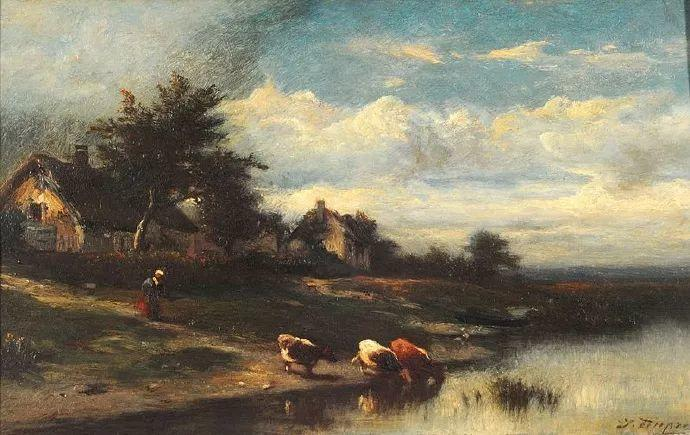 法国-杜普雷,风景画中的贝多芬插图10