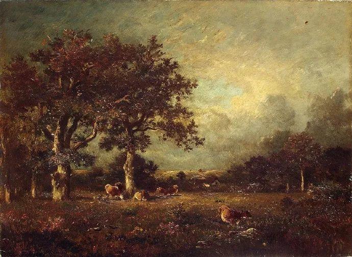 法国-杜普雷,风景画中的贝多芬插图15