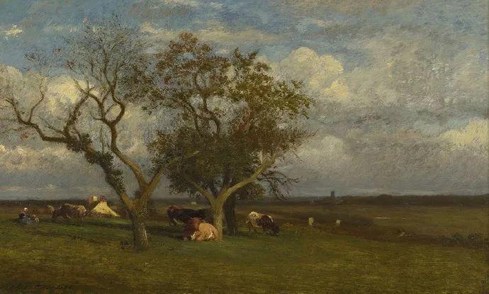 法国-杜普雷,风景画中的贝多芬插图16