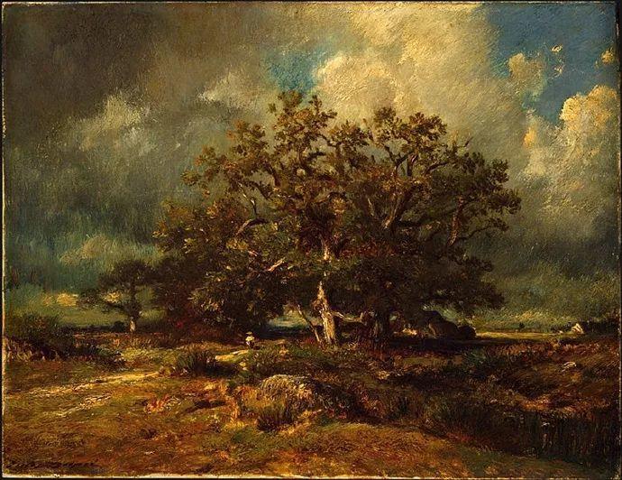 法国-杜普雷,风景画中的贝多芬插图18