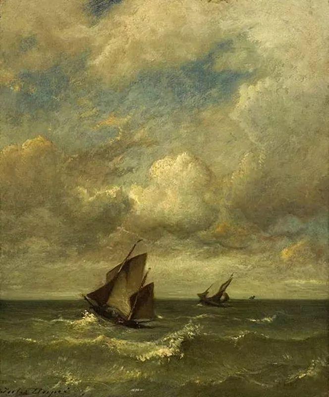 法国-杜普雷,风景画中的贝多芬插图26
