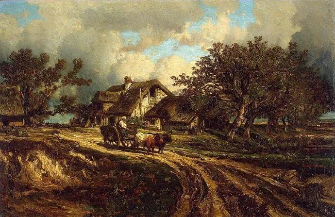法国-杜普雷,风景画中的贝多芬插图27