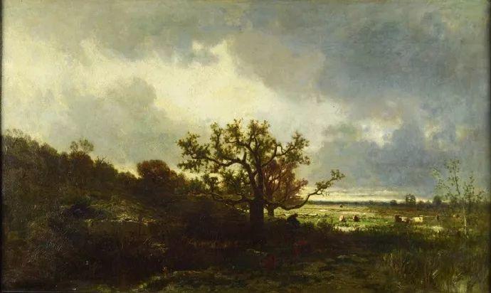 法国-杜普雷,风景画中的贝多芬插图29