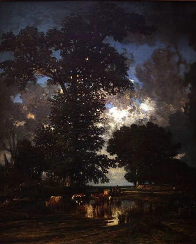 法国-杜普雷,风景画中的贝多芬插图30