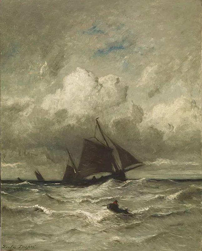 法国-杜普雷,风景画中的贝多芬插图34