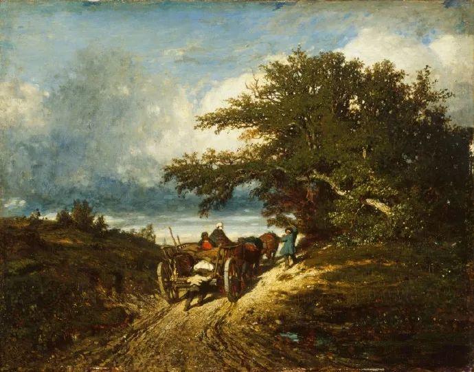 法国-杜普雷,风景画中的贝多芬插图35