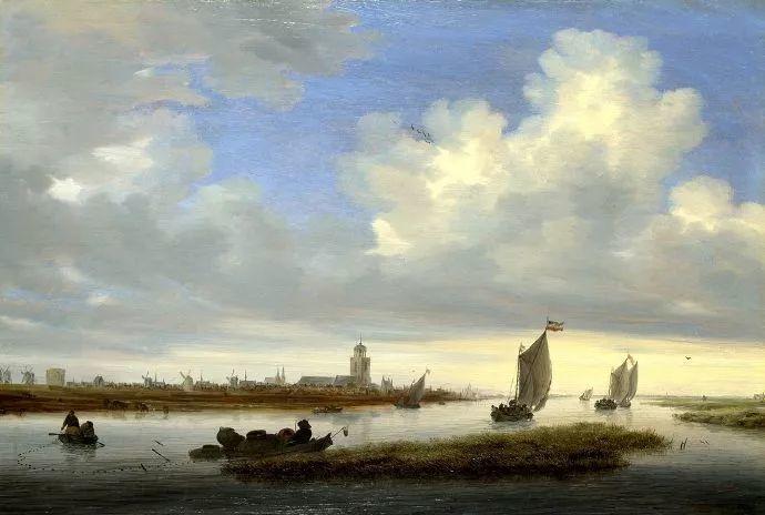 荷兰-所罗门·范·雷斯达尔,哈勒姆新色调风格的倡导者插图2