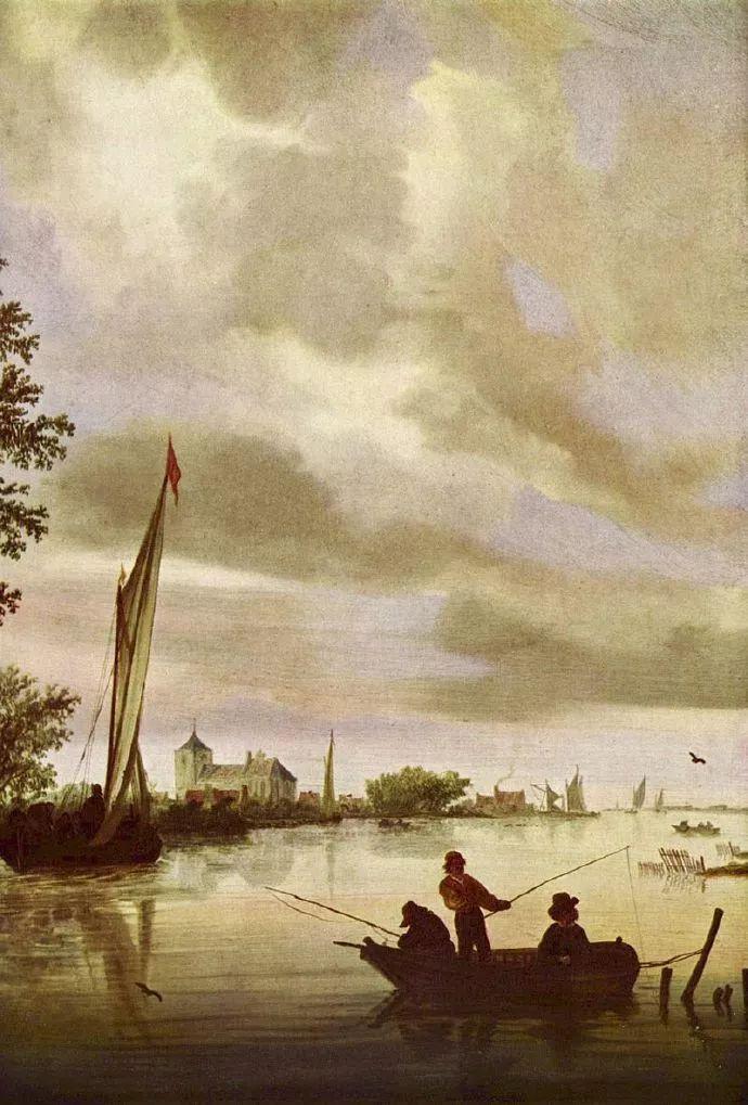 荷兰-所罗门·范·雷斯达尔,哈勒姆新色调风格的倡导者插图3
