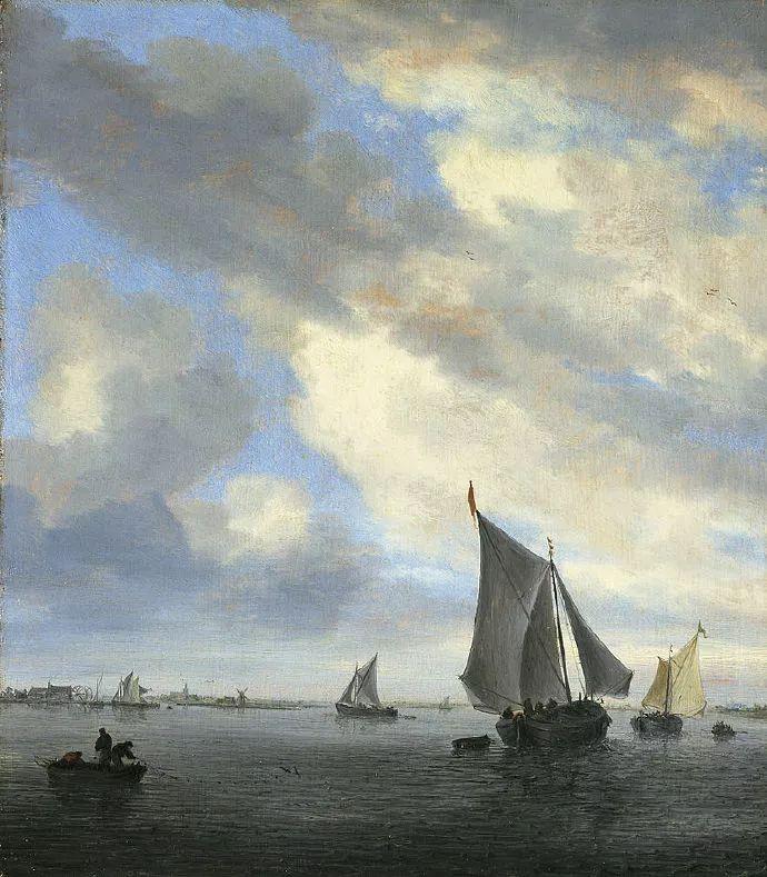 荷兰-所罗门·范·雷斯达尔,哈勒姆新色调风格的倡导者插图11