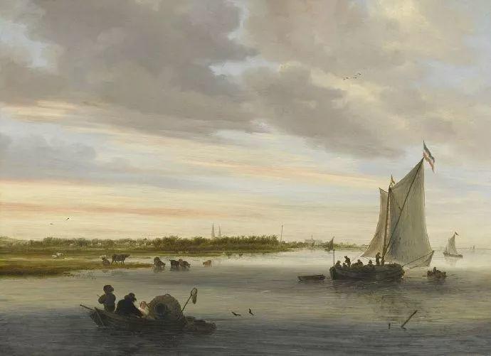 荷兰-所罗门·范·雷斯达尔,哈勒姆新色调风格的倡导者插图12