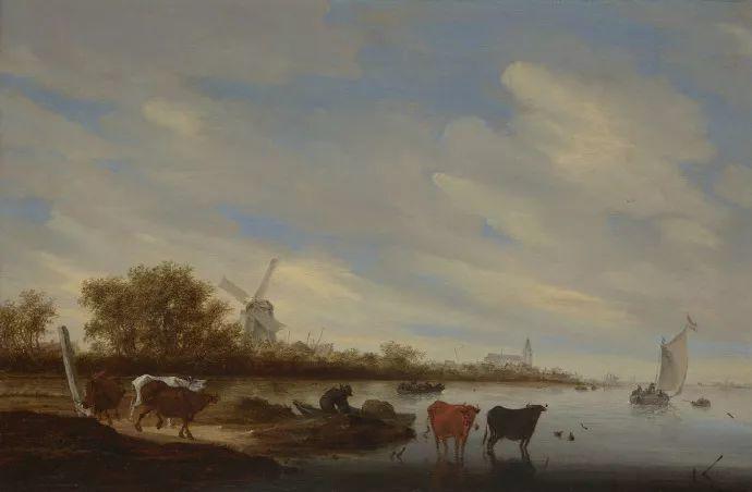 荷兰-所罗门·范·雷斯达尔,哈勒姆新色调风格的倡导者插图19
