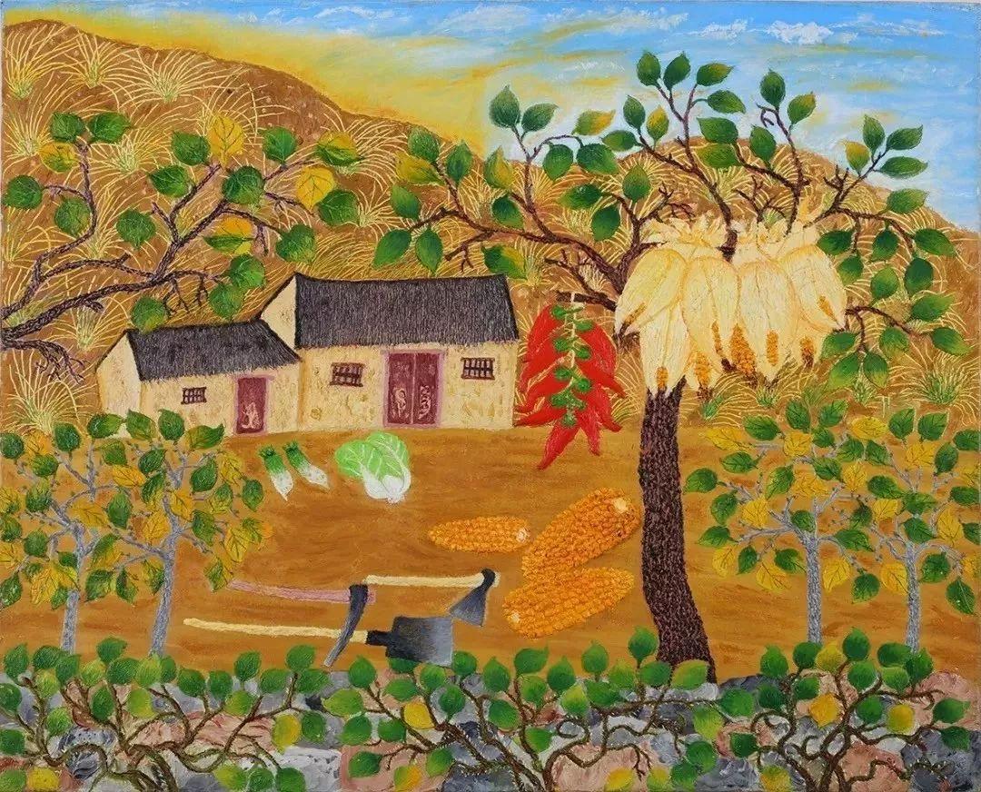 """""""梵高奶奶""""走了,她把心里的幸福用画笔留给了世界插图"""