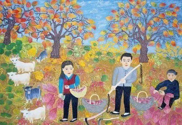 """""""梵高奶奶""""走了,她把心里的幸福用画笔留给了世界插图10"""