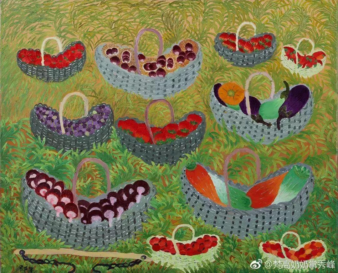"""""""梵高奶奶""""走了,她把心里的幸福用画笔留给了世界插图14"""
