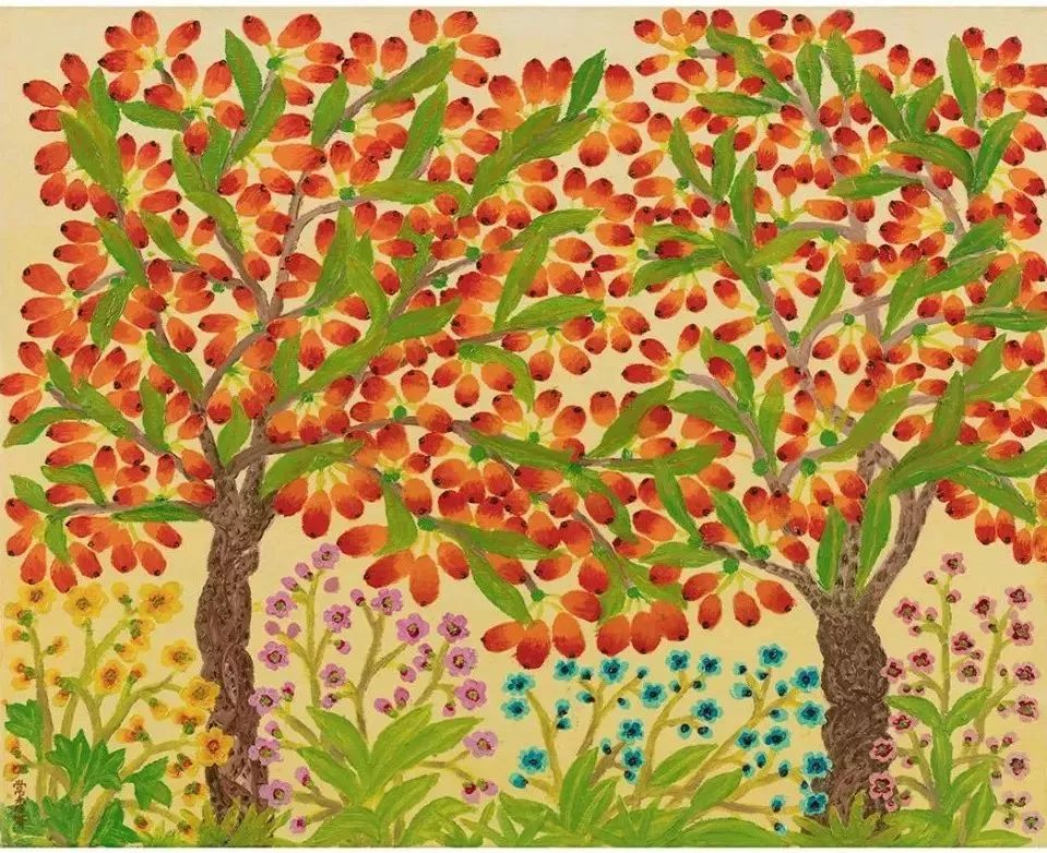 """""""梵高奶奶""""走了,她把心里的幸福用画笔留给了世界插图18"""