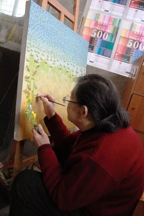 """""""梵高奶奶""""走了,她把心里的幸福用画笔留给了世界插图19"""