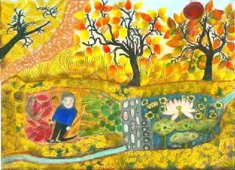 """""""梵高奶奶""""走了,她把心里的幸福用画笔留给了世界插图21"""