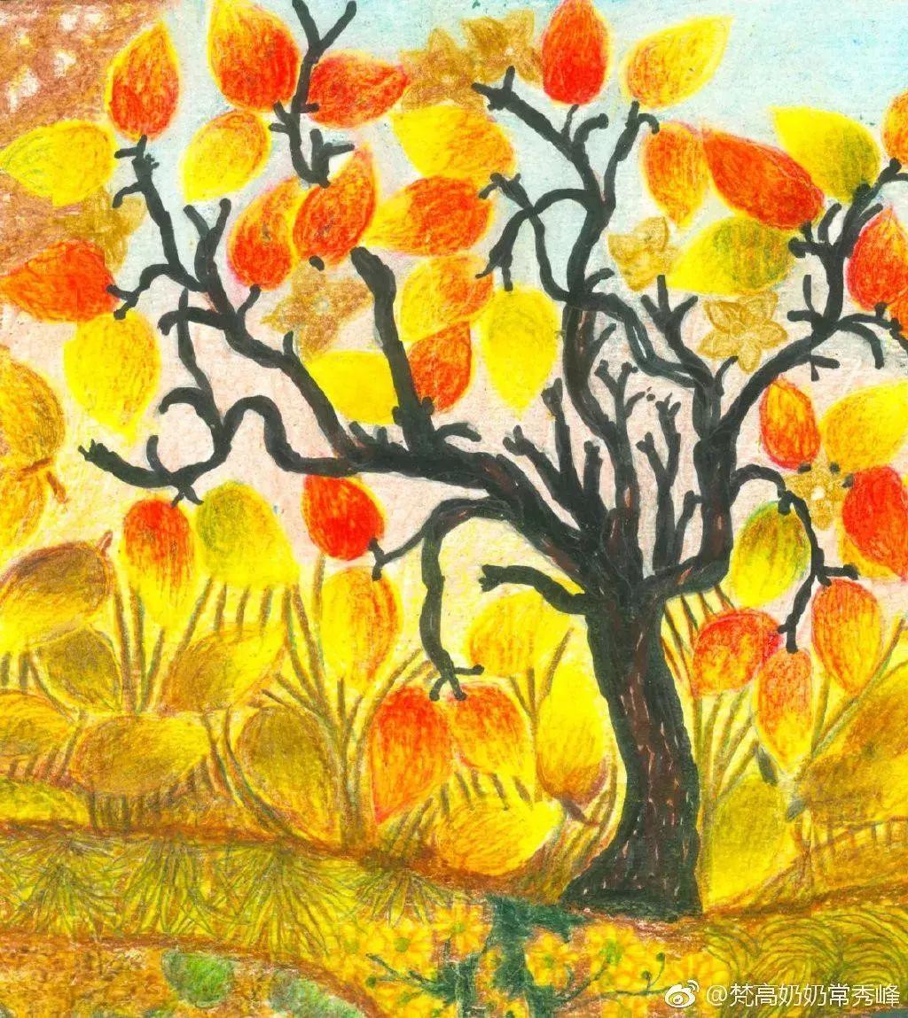 """""""梵高奶奶""""走了,她把心里的幸福用画笔留给了世界插图22"""