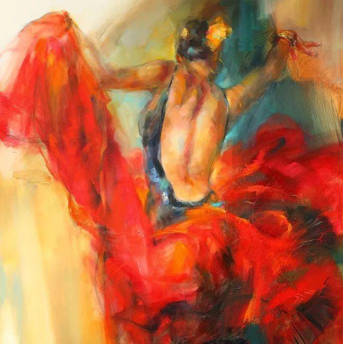 舞动中的美女热情奔放,美得令人如痴如醉插图
