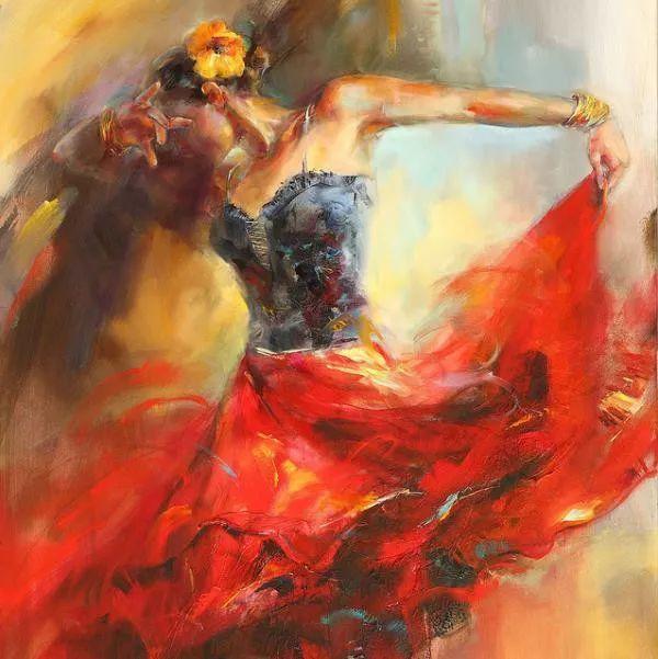 舞动中的美女热情奔放,美得令人如痴如醉插图1