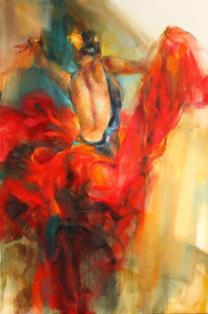 舞动中的美女热情奔放,美得令人如痴如醉插图4