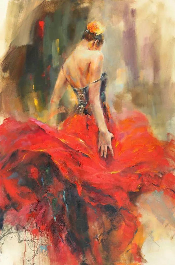 舞动中的美女热情奔放,美得令人如痴如醉插图5