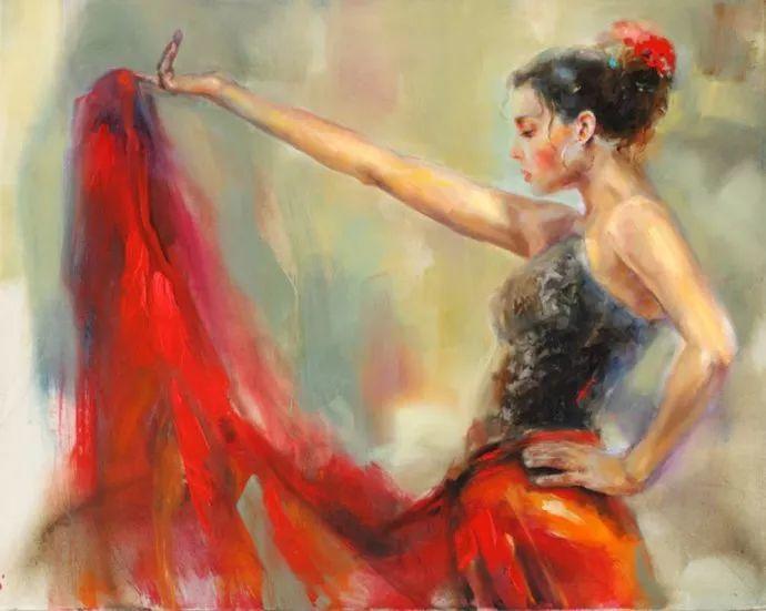 舞动中的美女热情奔放,美得令人如痴如醉插图6