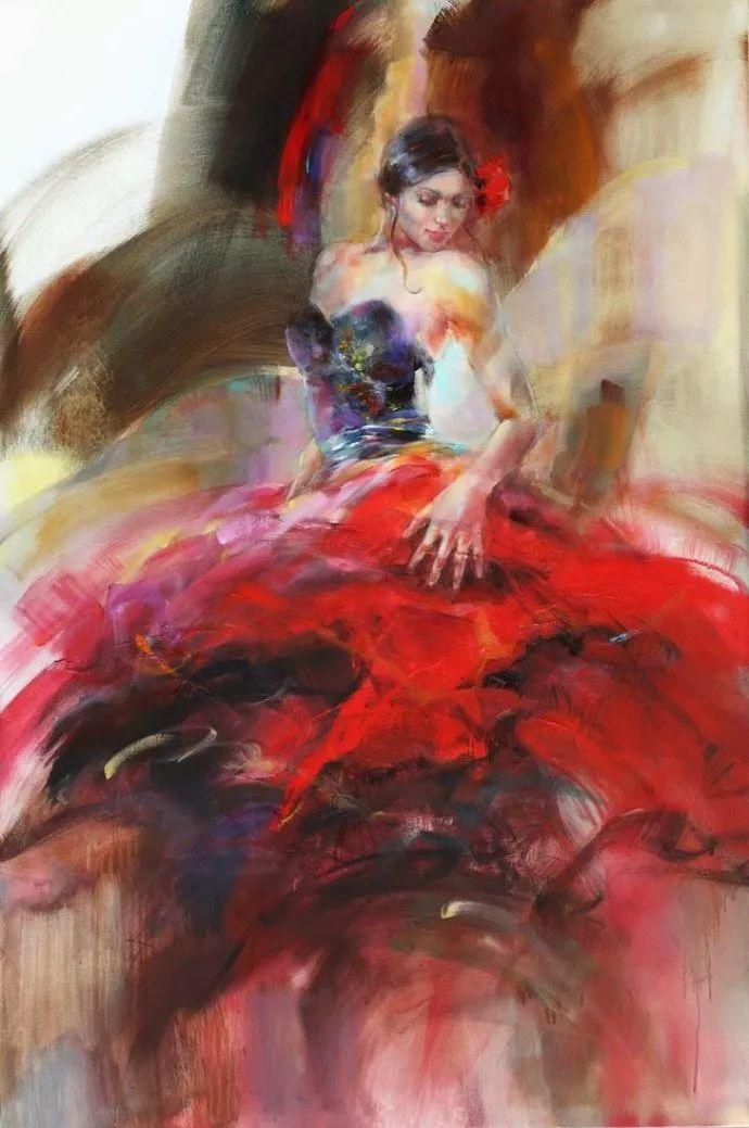舞动中的美女热情奔放,美得令人如痴如醉插图7