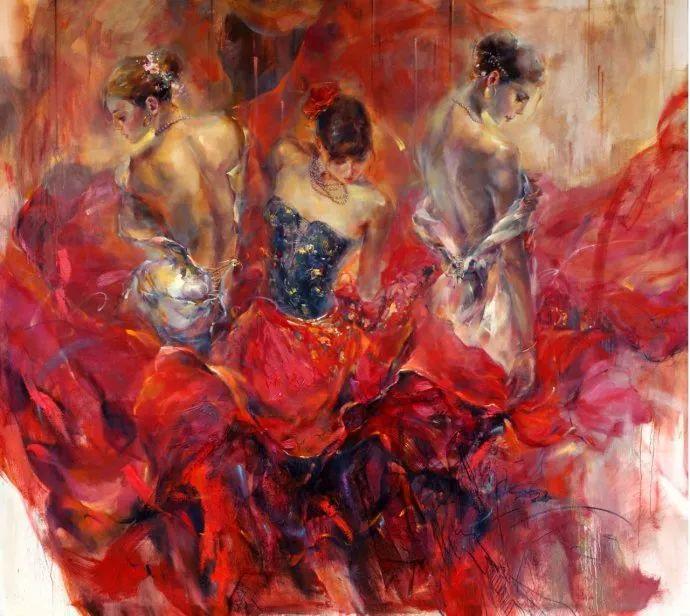 舞动中的美女热情奔放,美得令人如痴如醉插图19