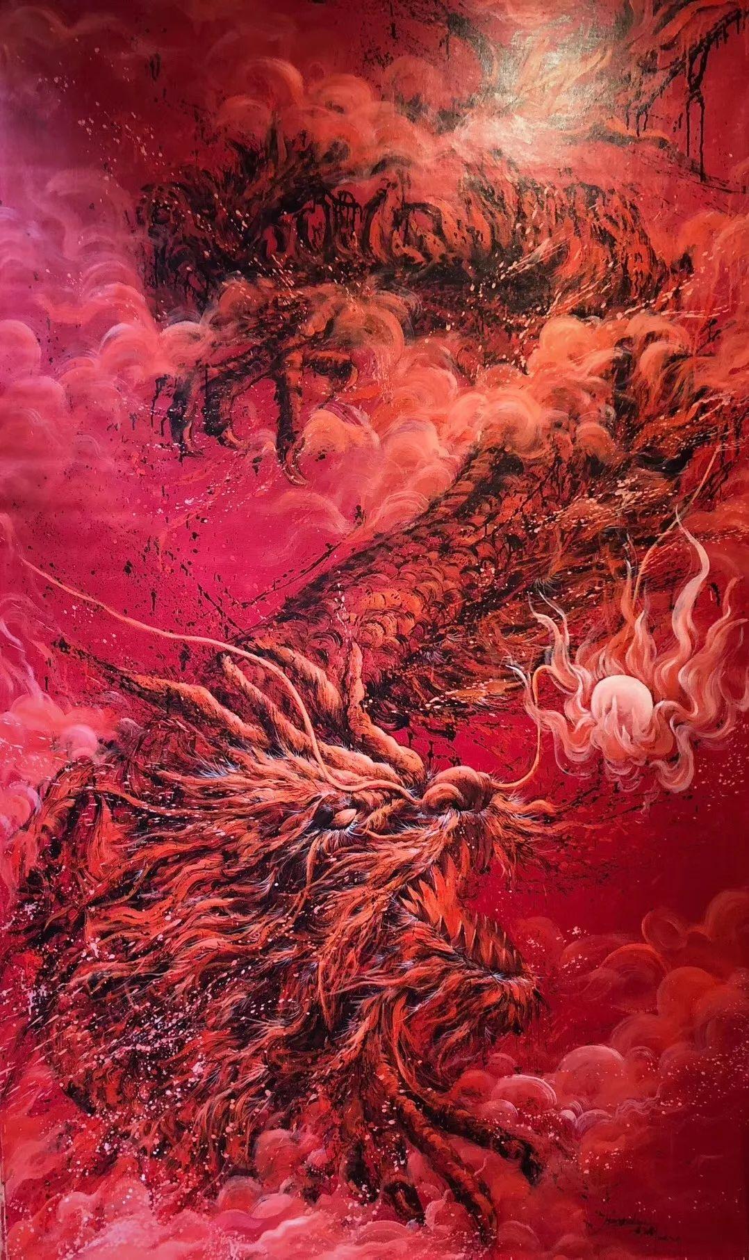 94年小伙用一幅画轻松圈粉20万,堪称视觉盛宴!不点赞都对不起双眼插图27
