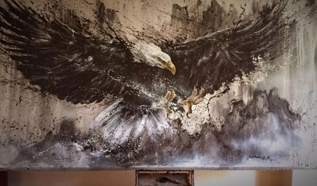 94年小伙用一幅画轻松圈粉20万,堪称视觉盛宴!不点赞都对不起双眼插图121