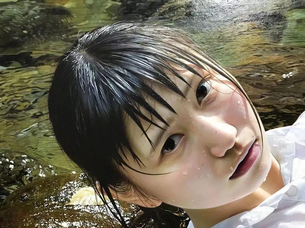 因画了一幅水中的女子,日本80后小伙成了新晋绘画大神插图7